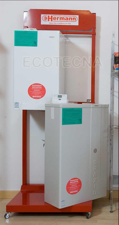 CALDAIA RADIANT RBS ENERGY COMPLETA DI KIT SCARICO