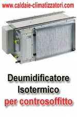 SunWood - Pannelli Radianti-Deumidificatore canalizzabile  SW AR 24-S