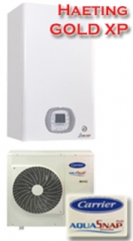CARRIER heat pump-Gold XP - Heating 50