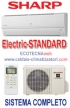 SHARP CONDIZIONATORI-On-off - KR 24000 BTU - electric standard hot 7