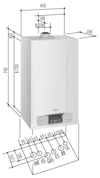 Ecotecna scheda prodotto for Baxi eco 3 manuale