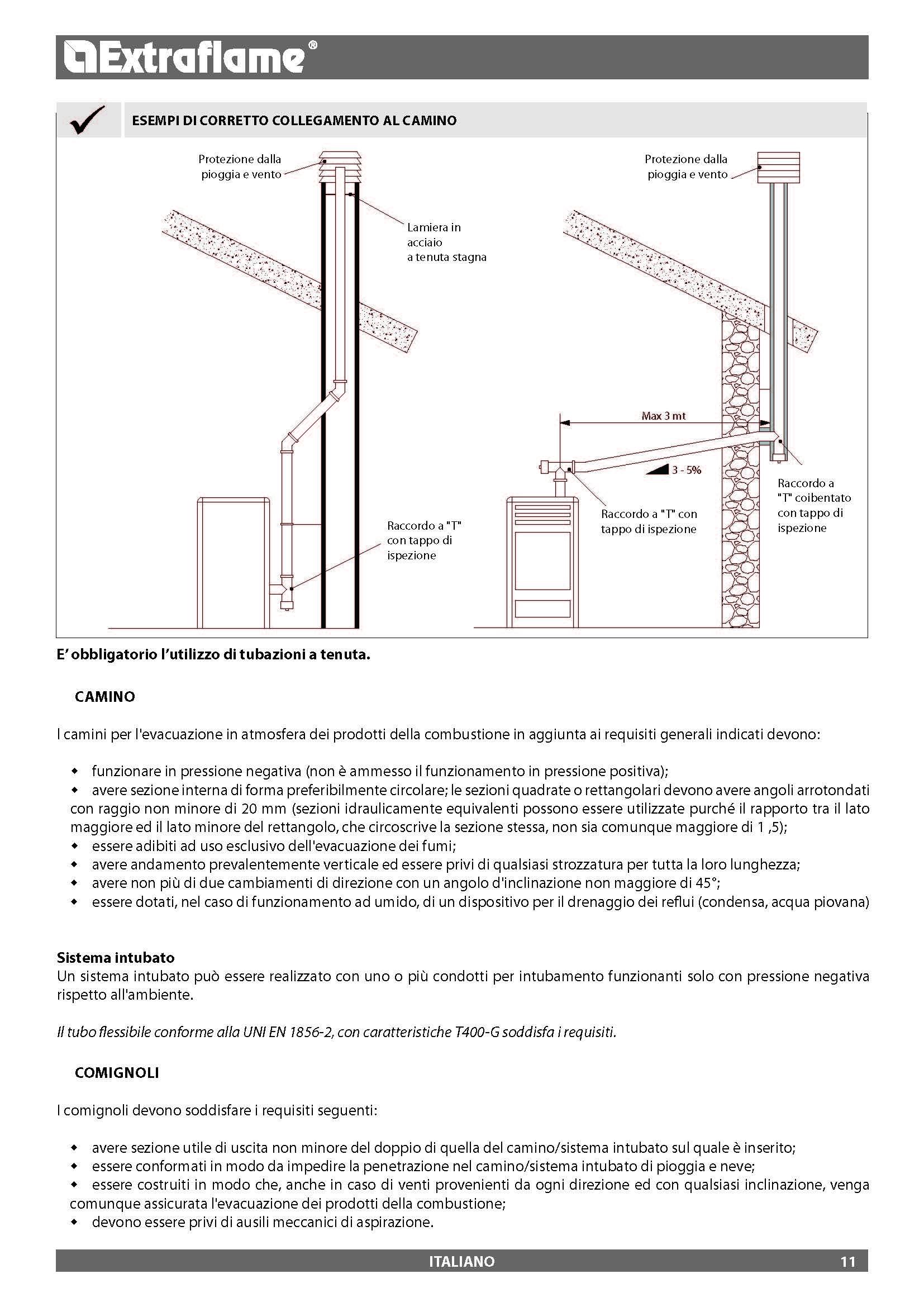 Ecotecna scheda prodotto for Raccordi per tubi scaldabagno