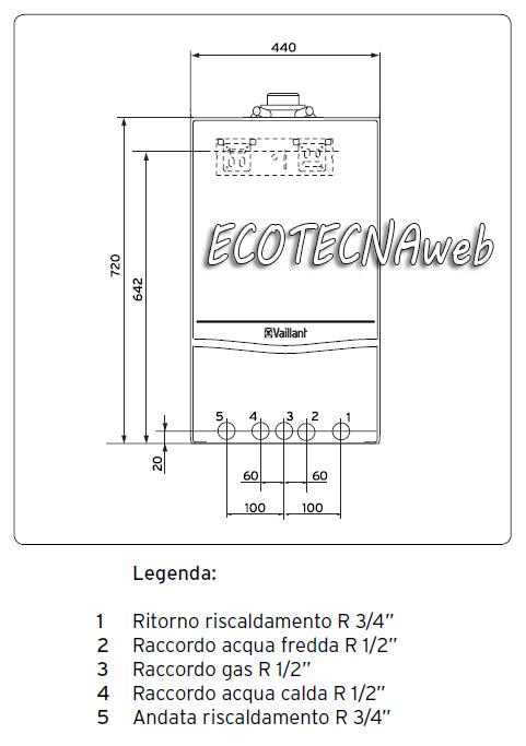 Caldaia Vaillant Ecotec Pro Vmw It 236 5 3 A 23kw 0010021995